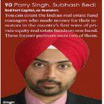 Parry Singh PERE Top 100